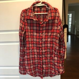 ⭐️4/$25 Forever 21 Women's Plaid Button Down Top